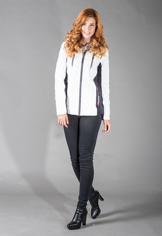 Obojstranná dámska zimná bunda SERENA