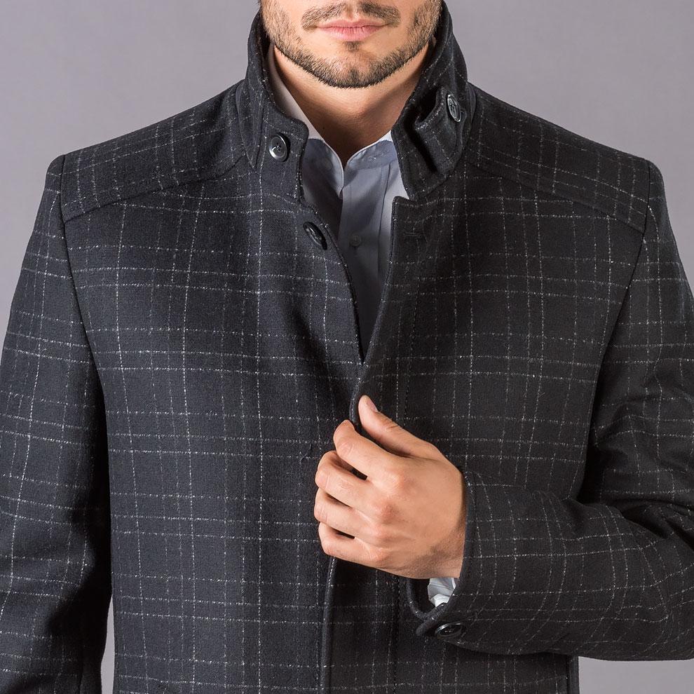 Pánsky vlnený kabát