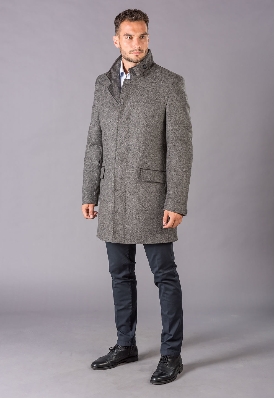 Pánsky zimný kabát